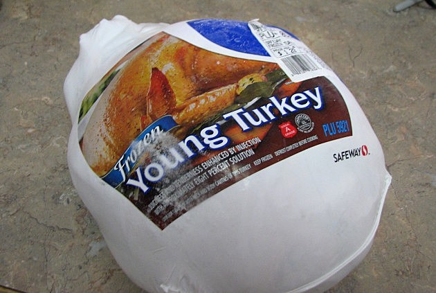 frozen turkey