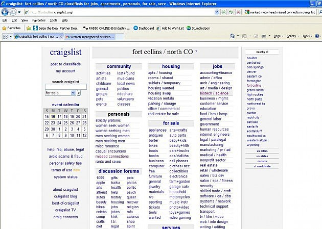 Craigslist Fort Collins