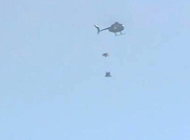 Parachuteless Skydiver