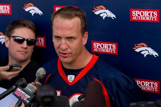 Peyton Manning, Denver Broncos OTA
