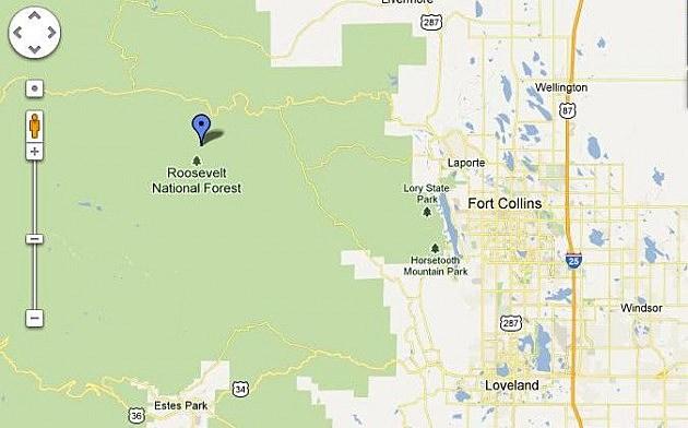 Camman Fire - Google Maps
