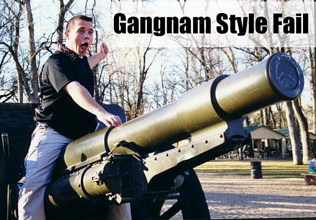 Gangnam Style Fail