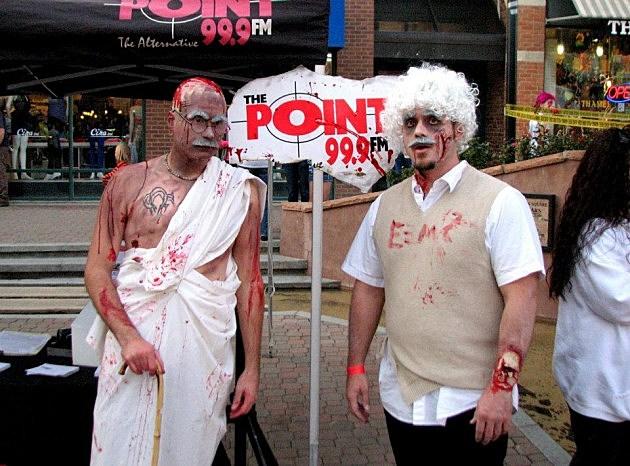 Zombie Gandhi & Zombie Albert Einstein
