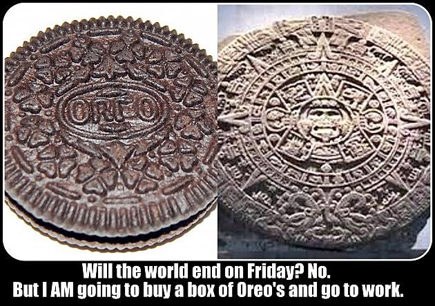 Mayan Doomsday Oreo