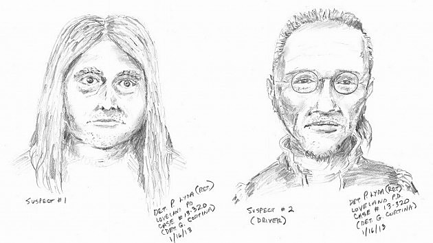 Loveland Kidnapping Sketches