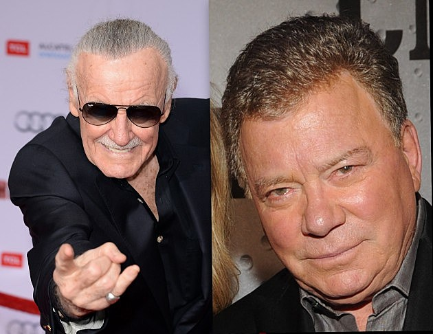 william shatner to replace stan leee at denver comic con 2013