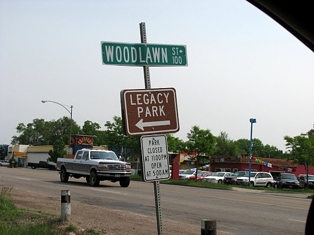 Legacy Park Sign