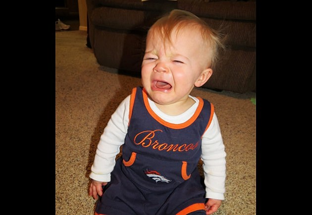 Sad Broncos Baby