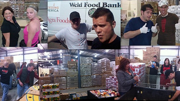 WELD FOOD BANK VOLUNTEERING