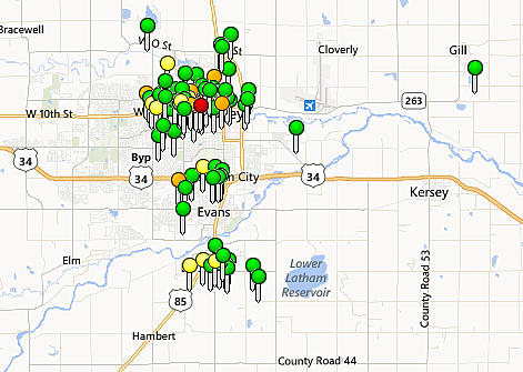 17,000+ Homes Without Power In Greeley, Evans, and Garden City