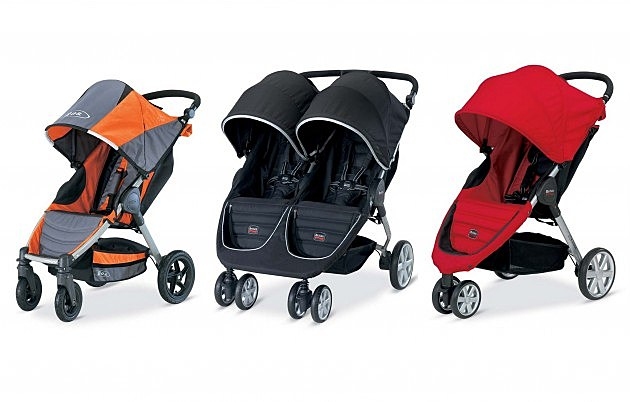 Recalled Britax strollers