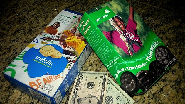 Girl Scout Cookies Cash