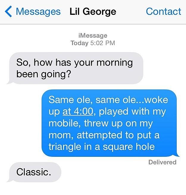 baby texts