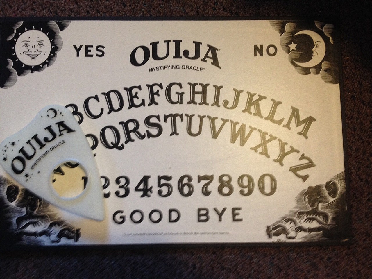 Staff summons spirits living in our studios with a ouija board video buycottarizona Gallery