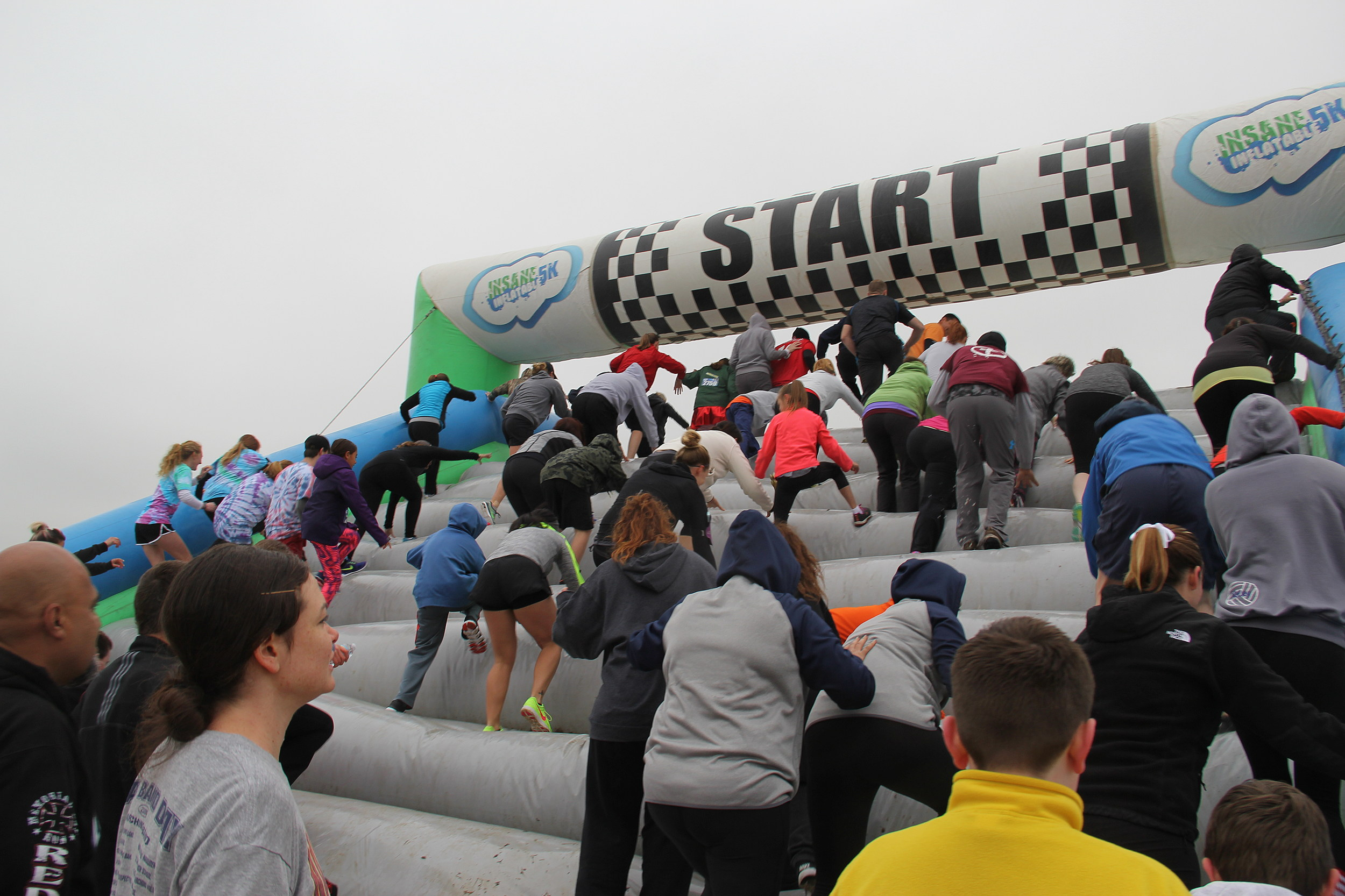 Insane Inflatable 5k Loveland Co
