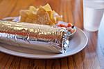 Foil Wrapped Burrito